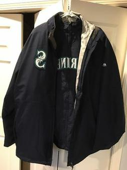 Seattle Mariners 3 in 1 Majestic Jacket size XXL