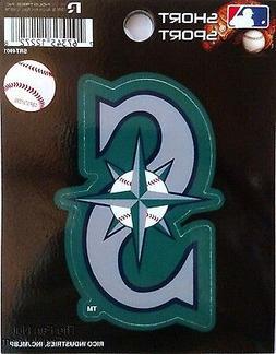 "Seattle Mariners 3"" Vinyl Sport Die Cut Decal Bumper Sticker"