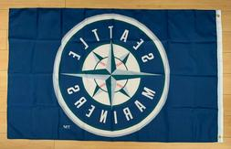 Seattle Mariners 3x5 ft Flag Banner MLB