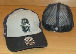 Seattle Mariners '47 Closer Mesh Back Flex Fitted Hat Cap Me
