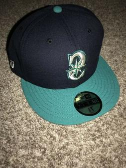 Seattle Mariners New Era 59Fifty Authentic On Field Fitted H