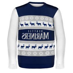 Seattle Mariners MLB Ugly Sweater Wordmark