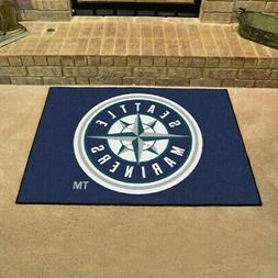 """Seattle Mariners All Star Tailgating Mat or Rug is 33.75"""" X"""