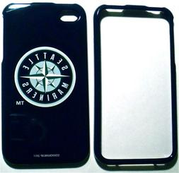 Seattle Mariners Apple iPhone 4 4S MLB Faceplate Case Plasti