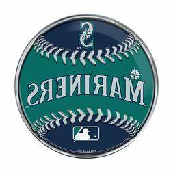 "Seattle Mariners Baseball Emblem MLB 3.25"" x 3.25"""