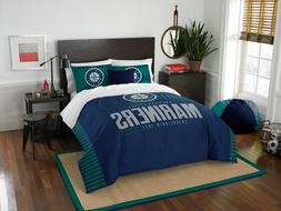 Seattle Mariners Bedding Full/Queen  OFFICIAL MLB