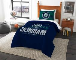 "Seattle Mariners Bedding Twin Comforter Set ""Grand Slam"" Off"
