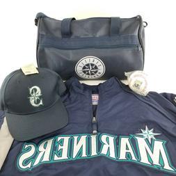 Seattle Mariners Birthday Package 4 Piece Hat Baseball Duffe