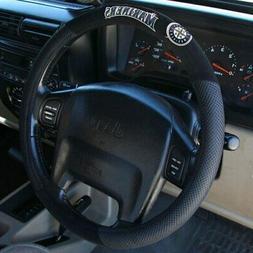 Seattle Mariners Black Poly Suede & Mesh Steering Wheel Cove