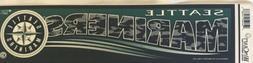 Seattle Mariners Bumper Sticker MLB Baseball Logo Tailgate 3