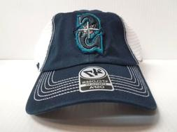 Seattle  Mariners 47 Brand Cap Unstructured Closer Mesh Stre