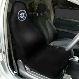 Seattle Mariners Car Seat Cover - Black