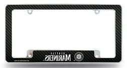 Seattle Mariners Chrome License Plate Frame Metal Tag Cover