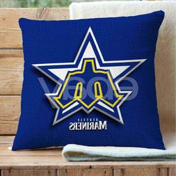 Seattle Mariners Custom Pillows Car Sofa Bed Home Decor Cush