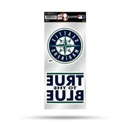 Seattle Mariners Double UP 2-Pack Decal Sheet Sticker Auto H
