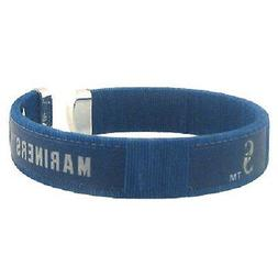 Seattle Mariners Fan Band Bracelet Nylon String Cuff Wristba