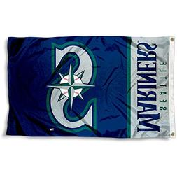 Seattle Mariners Flag 3x5 Banner