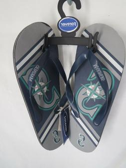Seattle Mariners Flip Flops Unisex Adult Sizes XS/S/M