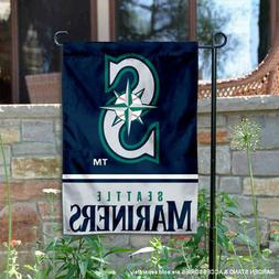 Seattle Mariners Garden Flag and Yard Banner