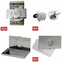 Seattle Mariners, Gift Combo, Cuff Links, Business Card Hold