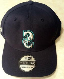 SEATTLE MARINERS Hat Size Medium / Large New Era 39 Thirty S