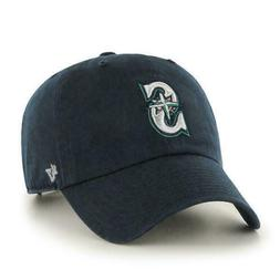 SEATTLE MARINERS HOME CAP 47 BRAND CLEAN UP STRAPBACK DAD HA