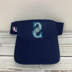 Seattle Mariners Home Replica Baseball Visor Cap Adult Small