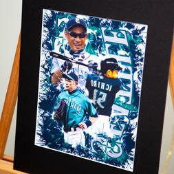 Seattle Mariners - Ichiro Suzuki #51 - Unique Artwork - Cust