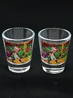 Seattle Mariners Ichiro Suzuki shot glasses-Classic Artwork-