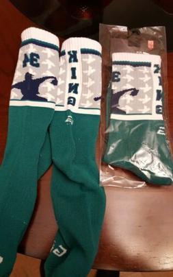 G206 wear Seattle Mariners King Felix Hernandez #34 socks ne