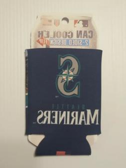 SEATTLE MARINERS   KOOZIE CAN COOLER NEW DOUBLE SIDED FOLD F
