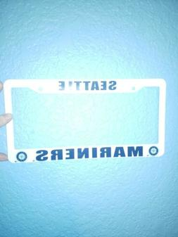 seattle mariners license plate cover frame new