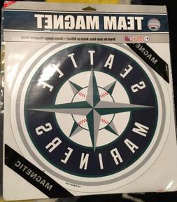 "Seattle Mariners Logo 11 1/4"" Car Fridge Magnet Fremont Die"