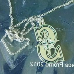 Seattle Mariners Logo Pendant Mother Day Necklace MLB Baseba