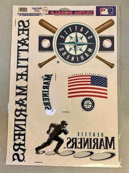 "Seattle Mariners Logo Premium 11.5""x17"" Ultra Decal Sheet St"