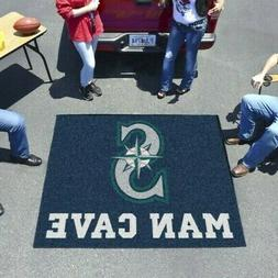 seattle mariners man cave tailgater rug or