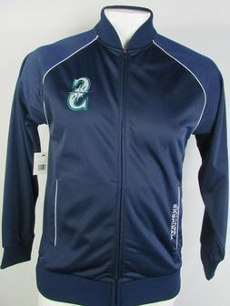 Seattle Mariners Men's  Full-Zip DryBase Jacket MLB Navy