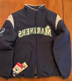 seattle mariners mens jacket therma base navy