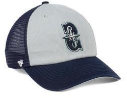 Seattle Mariners MLB 47 Brand Ravine Closer Stretch Hat Truc