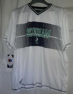SEATTLE MARINERS MLB Baseball Odd Ball Jersey Shirt Sz Large