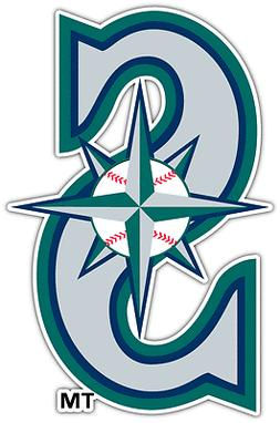 Seattle Mariners MLB Baseball Vinyl Car Bumper Window Sticke