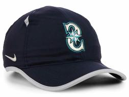 Seattle Mariners Nike MLB Featherlight Adjustable Cap Hat Ba