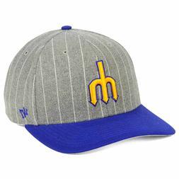 Seattle Mariners MLB Holbrook MVP Snapback Retro Vintage Pit