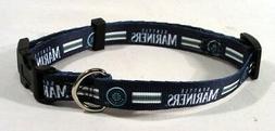 Seattle Mariners MLB Licensed XS Dog/Cat Pet Collar NEW FREE