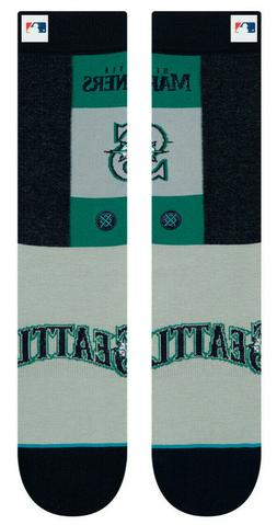 Seattle Mariners Stance MLB Pop Fly Diamond Collection Socks