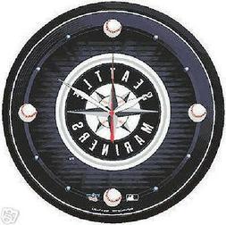 Seattle Mariners MLB Round Wall Clock