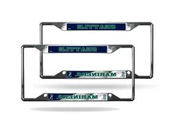 Seattle Mariners MLB  Chrome  License Plate Frames