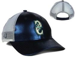 Seattle Mariners  MLB New Era Team Glimmer Womens 9Forty Sna