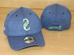 Seattle Mariners MLB Team Pennant 39Thirty Flex Fitted Hat C