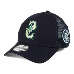 Seattle Mariners MLB Team Trucker Patch 940 Snapback Cap Hat